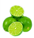 Green Limes Stock Photo
