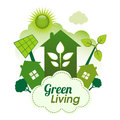 Green Living Royalty Free Stock Photo