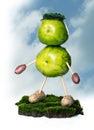 Green living Royalty Free Stock Photo