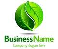 Zelený označení organizace nebo instituce