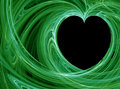 Green love Royalty Free Stock Photo