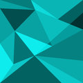 Green low poly design element background