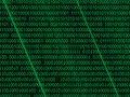 Green matrix Royalty Free Stock Image