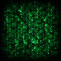 Green matrix background Royalty Free Stock Photo