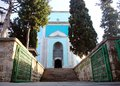 Green mausoleum yesil turbe exterior of in bursa turkey Royalty Free Stock Photos