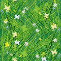 Green meadow, seamless pattern for your design Royalty Free Stock Images