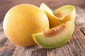 Green melon Royalty Free Stock Photo
