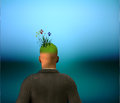 Green Mind Royalty Free Stock Photo