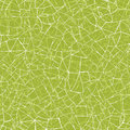 Green mosaic texture seamless pattern background vector with hand drawn abstract line art Royalty Free Stock Photo
