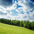 Green mountain landscape Royalty Free Stock Photography