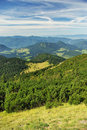Zelené hory a krajina