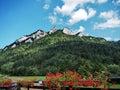 Green mountains Royalty Free Stock Photo