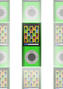 Green MP3 Player Stock Images