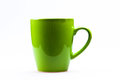 Green mug Royalty Free Stock Photo