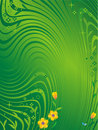 Green nature abstract background Royalty Free Stock Images