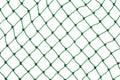 Green net on white background Royalty Free Stock Photo