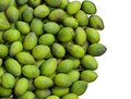 Green olive background Royalty Free Stock Photo