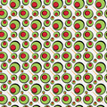 Green Olives Pattern Stock Photo