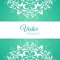 Green ornament petal with space for text this is file of eps format Royalty Free Stock Photos