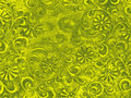Green ornamental floral background Royalty Free Stock Photo