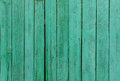Green painted wood planks Royalty Free Stock Photo