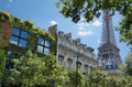 Green Paris. Stock Photography