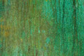 Green patina metal texture Royalty Free Stock Photo