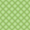 Green pattern checkered seamless vector illustration Royalty Free Stock Images