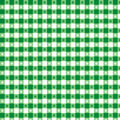 Green pattern seamless tablecloth 免版税库存图片