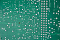 Green pcb Royalty Free Stock Photography