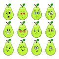 The green pears Royalty Free Stock Photo