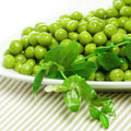 Green peas vegetables Royalty Free Stock Photo