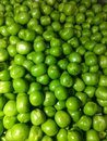 stock image of  Green peas on white background