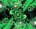 Green Phosphorescent Fractal A...