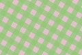 Green and Pink Computer Generated Abstract Plaid Pattern Royalty Free Stock Photo