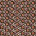 Green Pink Kaleidoscope Paper ...