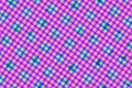Green, Pink, Purple Computer Generated Abstract Geometric Patter Royalty Free Stock Photo