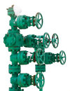 Green pipe system with valves