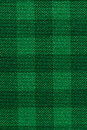 Green plaid fabric texture background Royalty Free Stock Photo