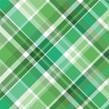 Green plaid pattern Royalty Free Stock Photography