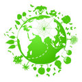 Green planet Royalty Free Stock Image