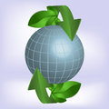 Green planet ecology for you desgn Stock Photo