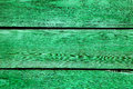 Green planks background with weathered paint Royalty Free Stock Photos