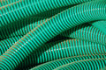 Green plastic pipes background Royalty Free Stock Photo