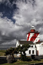 Green point lighthouse of greenpoint cape town south africa Royalty Free Stock Image