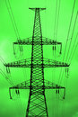 Green power. Royalty Free Stock Photography