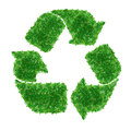 Green recycle Sign Royalty Free Stock Images