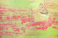 Green and red wood background high resolution picture of Royalty Free Stock Photography