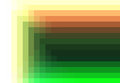 Green red yellow quadratic pattern in color geometric Royalty Free Stock Photo