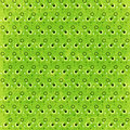 Green Retro Circles Background Royalty Free Stock Photo